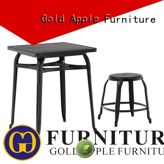 Quality Gold Apple Brand shop outdoor table and chair set