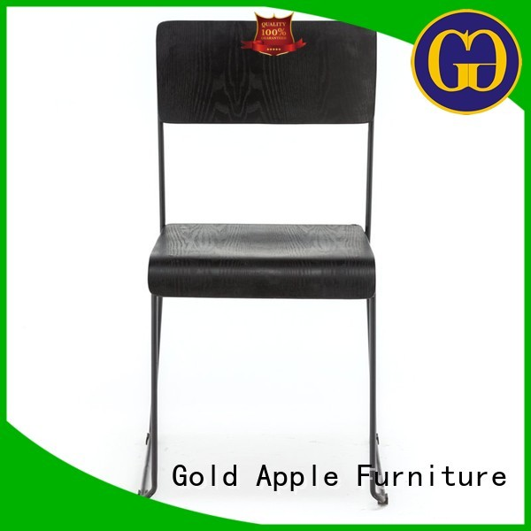 designer style wooden chair suppliers industrial Gold Apple company