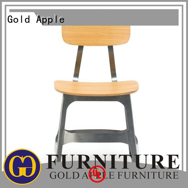 Hot wooden chair manufacturers designer Gold Apple Brand