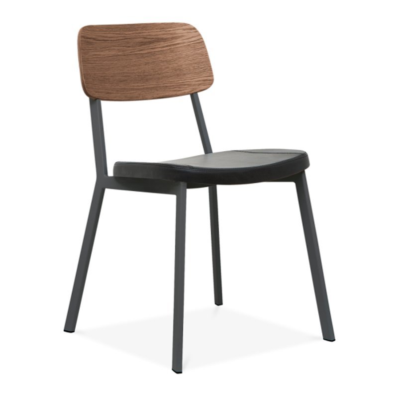 Hotel Room Furniture Stacking Upholstery Dining Chair GA3001C-45STP