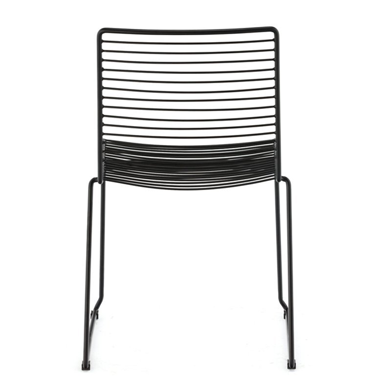 Net modern outdoor Stool Replica Bend Wire Lucy Bar High Stool GA2203C-45ST