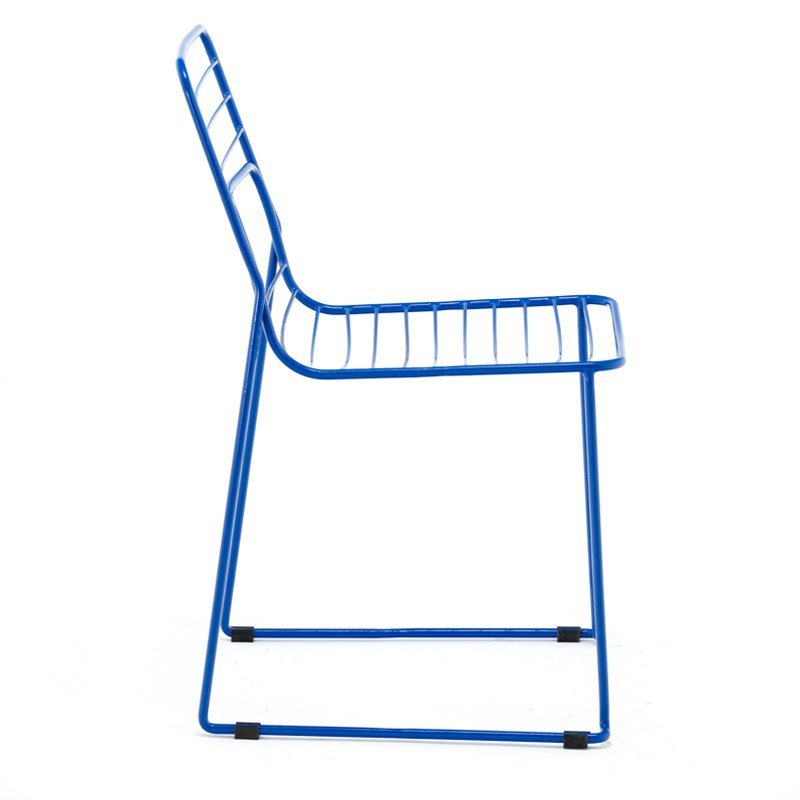 stackable outdoor wire metal dining chair for event use GA2205C