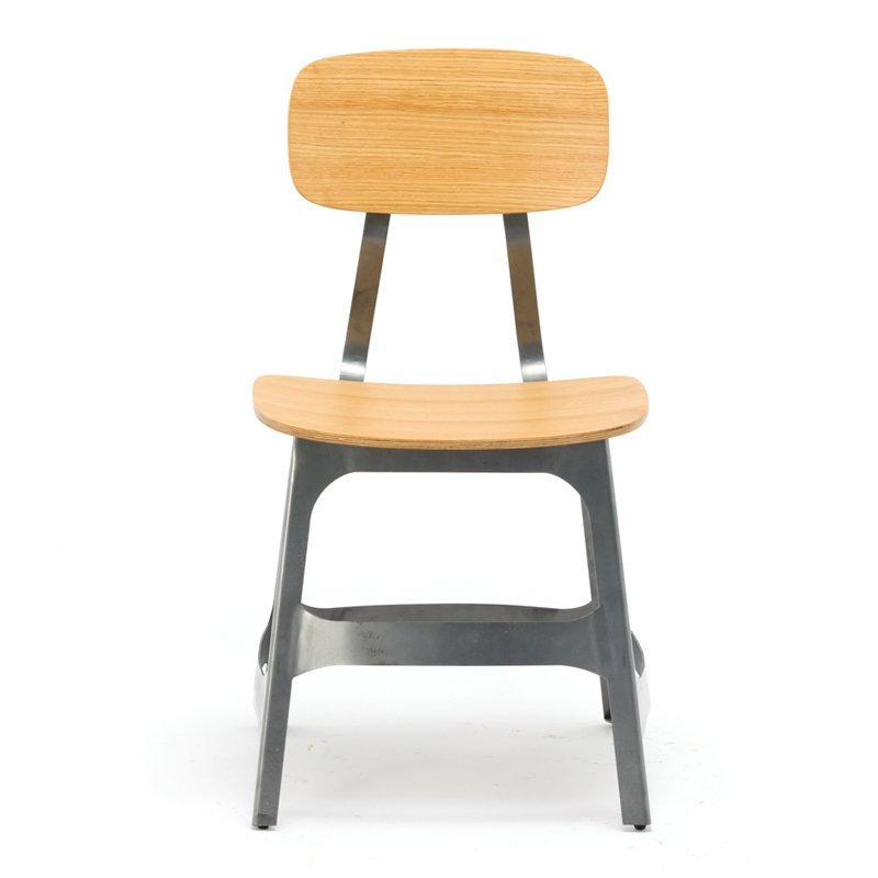 Cafe Chair with Wooden Seat GA3401C-45STW