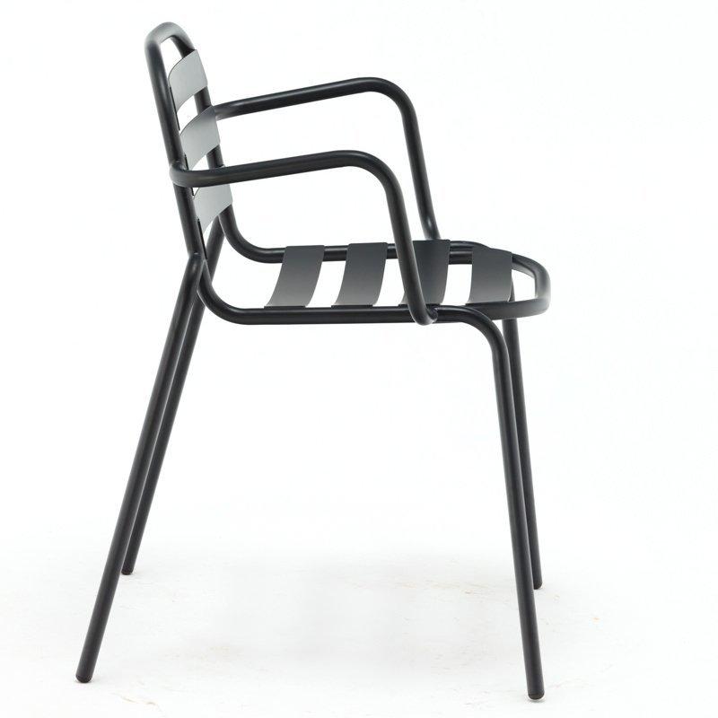 Custom made outdoor stackable garden bertoia metal wire chair with mesh GA804BC