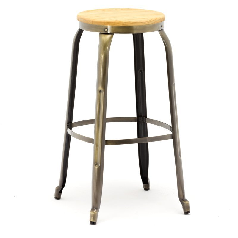 Customized all kinds of bar metal stool bar wood stool bar iron stool GA301C