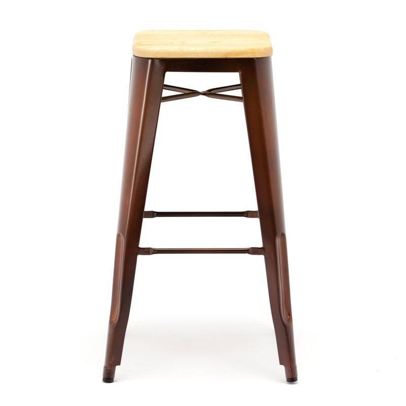 Vintage Metal Furniture Coffee Rusty Marais Stools GA201C
