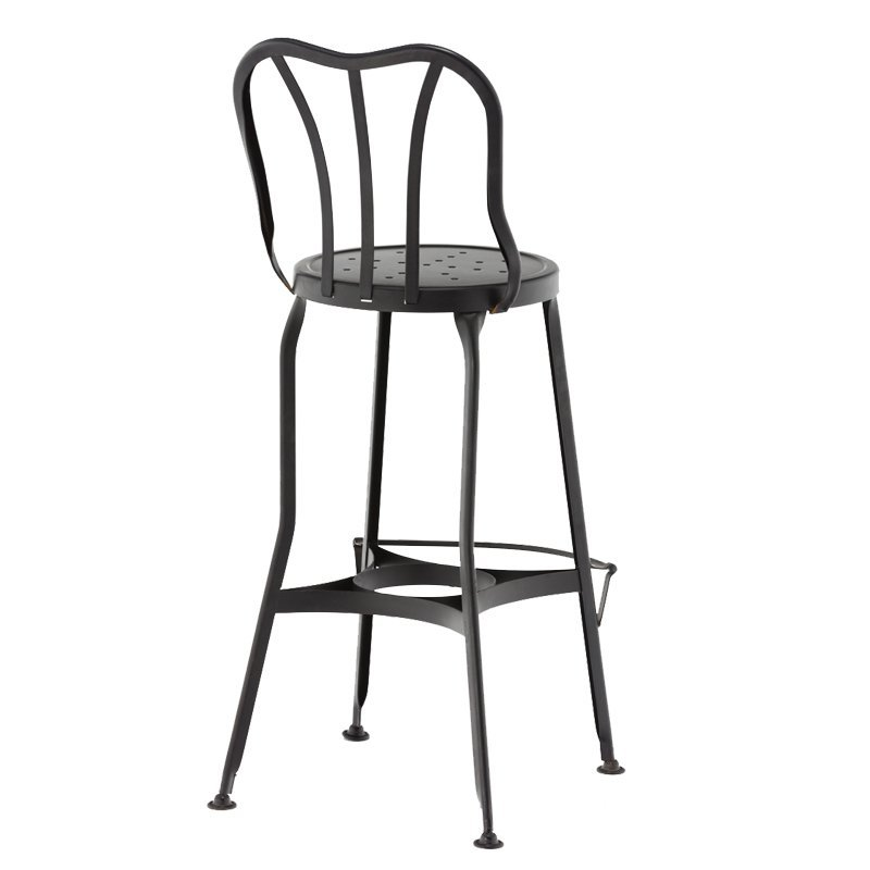odern Electroplated Copper/Gold Color Hairpin Metal Wire Bar Stool GA404C-65ST