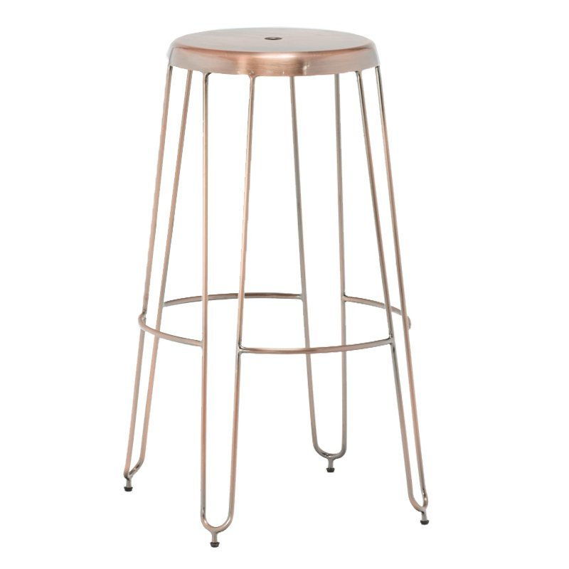 Metal leg Bar Stools Modern Dinning Counter Chair bar stool high chair sale GA302C-75ST