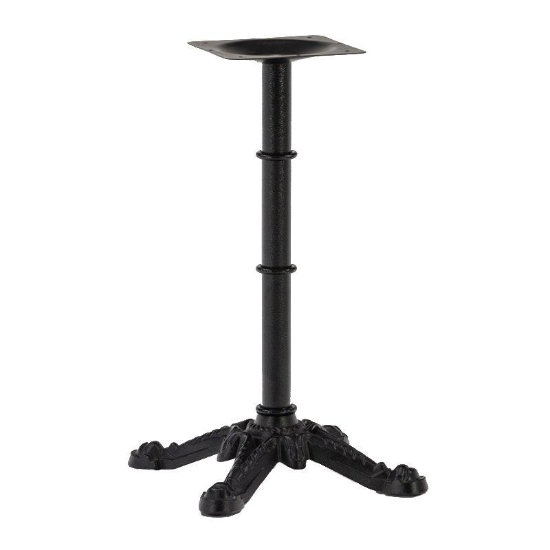 Wholesale restaurant black antique cast iron dining table base GA3202TB-2