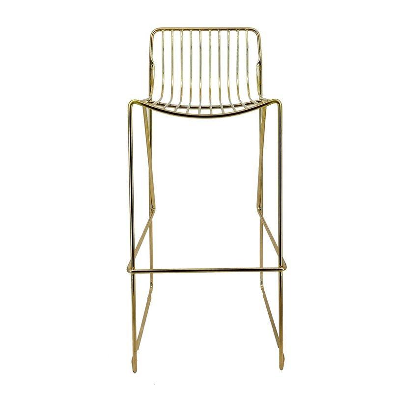 Modern Wedding Furniture Metal Wire High Chair GA2208C-75ST
