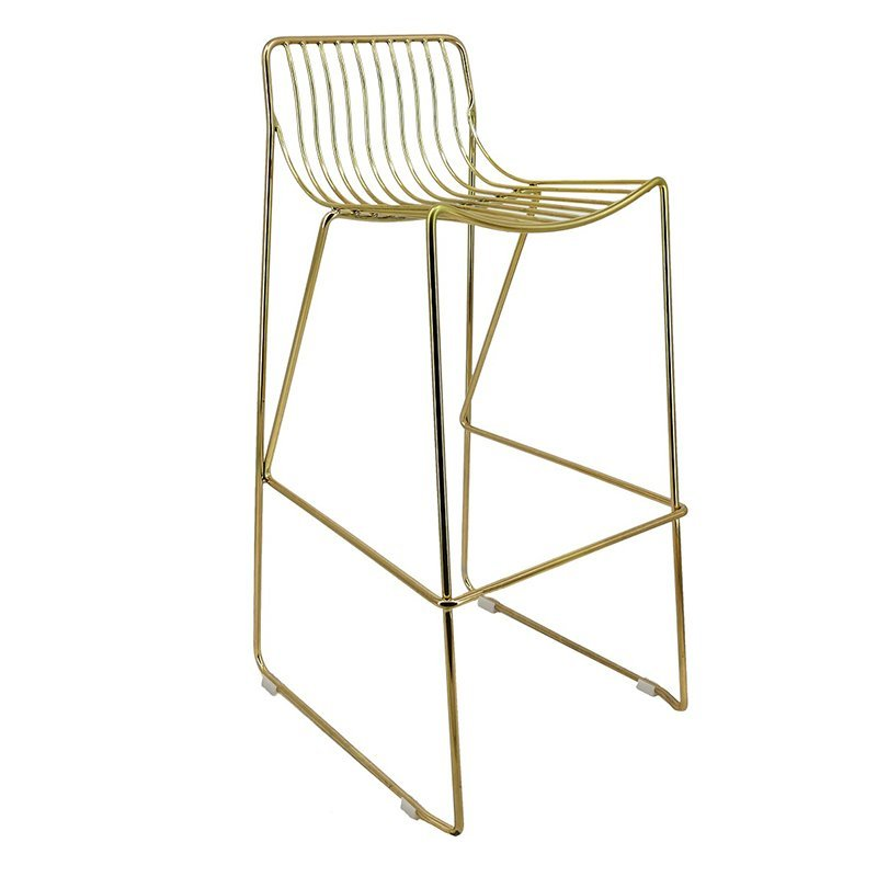 Modern Wedding Furniture Metal Wire High Chair GA2208C-75ST