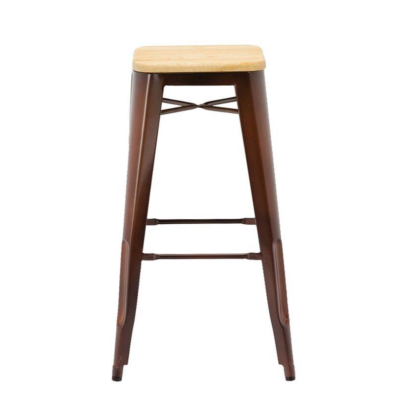 New Design Barstool Wooden Bar Stool GA201C-75STW