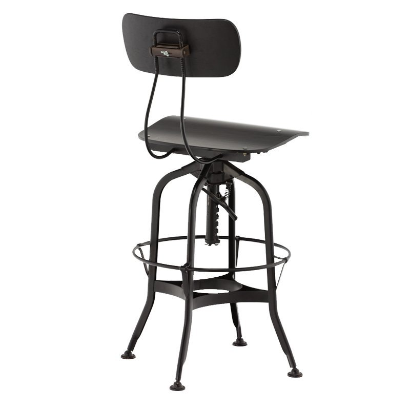 Metal Swivel Bar Stool Used Bar Bistro Stool GA402C-65STW