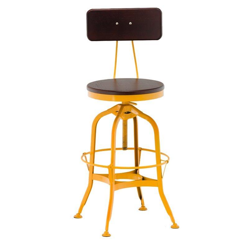 hot selling high quality wood vintage bar stools GA403BC-65STW