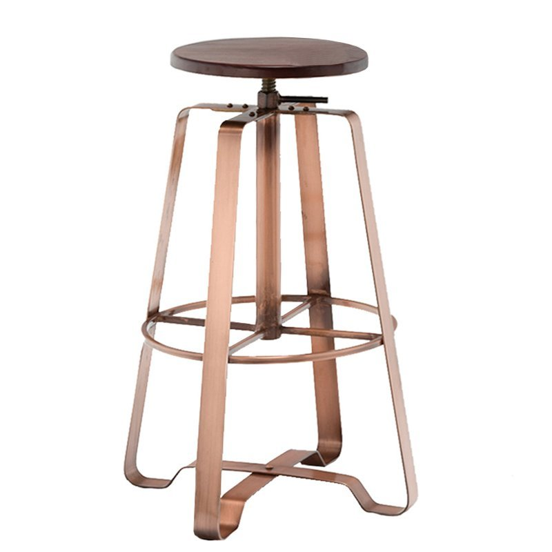 High quality metal bar stool star base in black powder GA607C-65STW