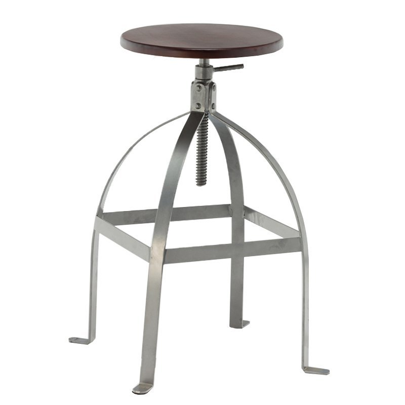 Adjustable Bar Stool Swivel Steel Stool GA602C-65STW
