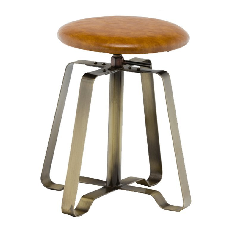 Stool with PVC Cushion Seat GA607C-45STP