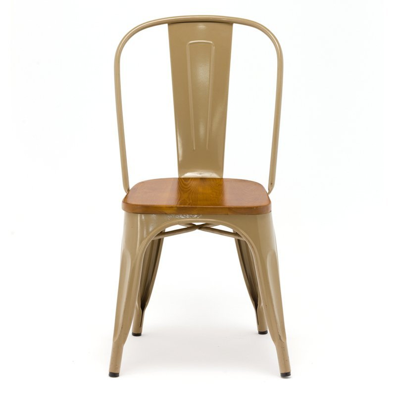 Hot sale furniture restaurant modern style solid wood design windsor dining chair in burlywood GA101C-45STW