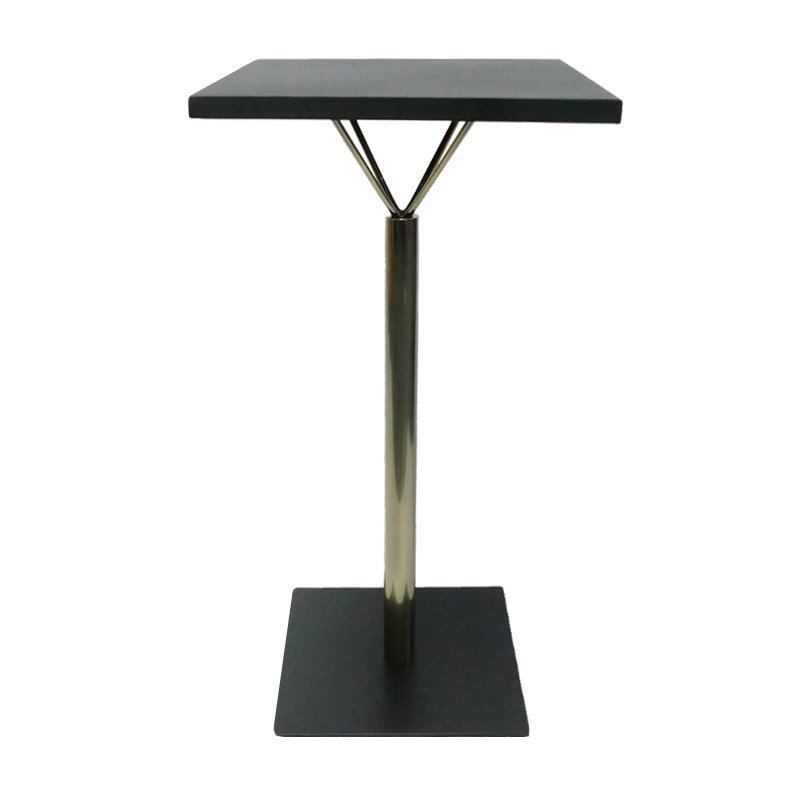 Furniture Parts Square Bar Height Iron Table Base GA2201BT