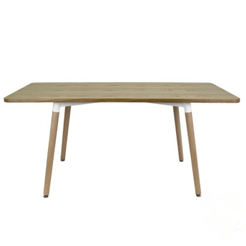 Wooden Dining Table with Wood Legs GA2002T