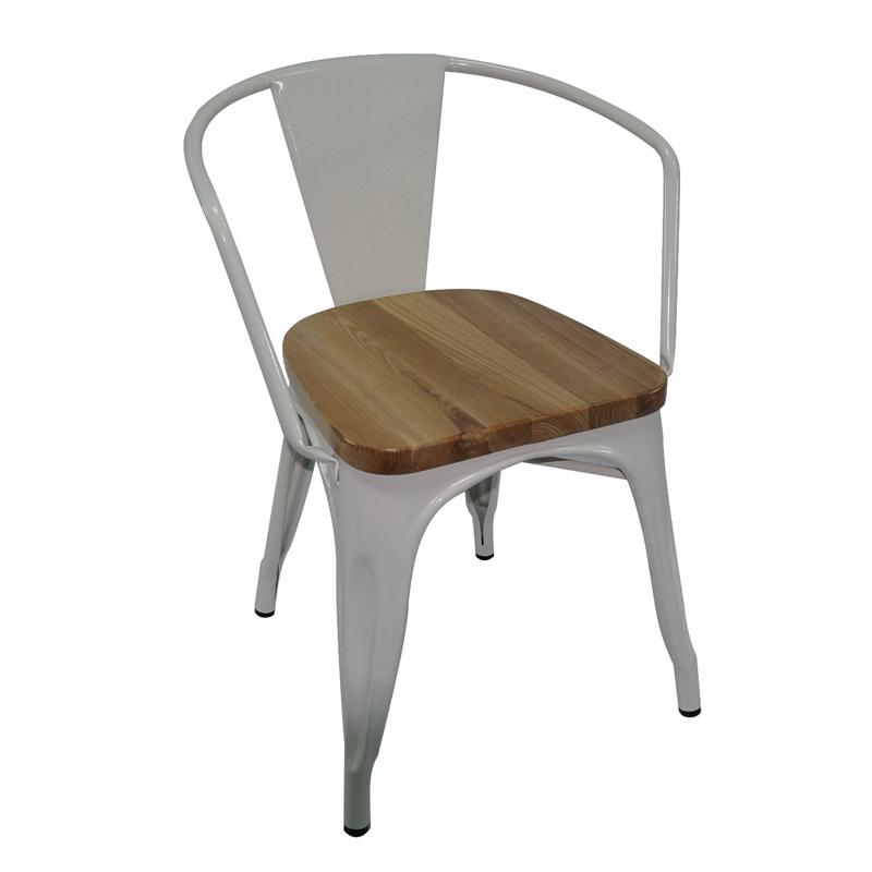 Wholesale Industrial Metal Dining Chairs GA103C-45STW