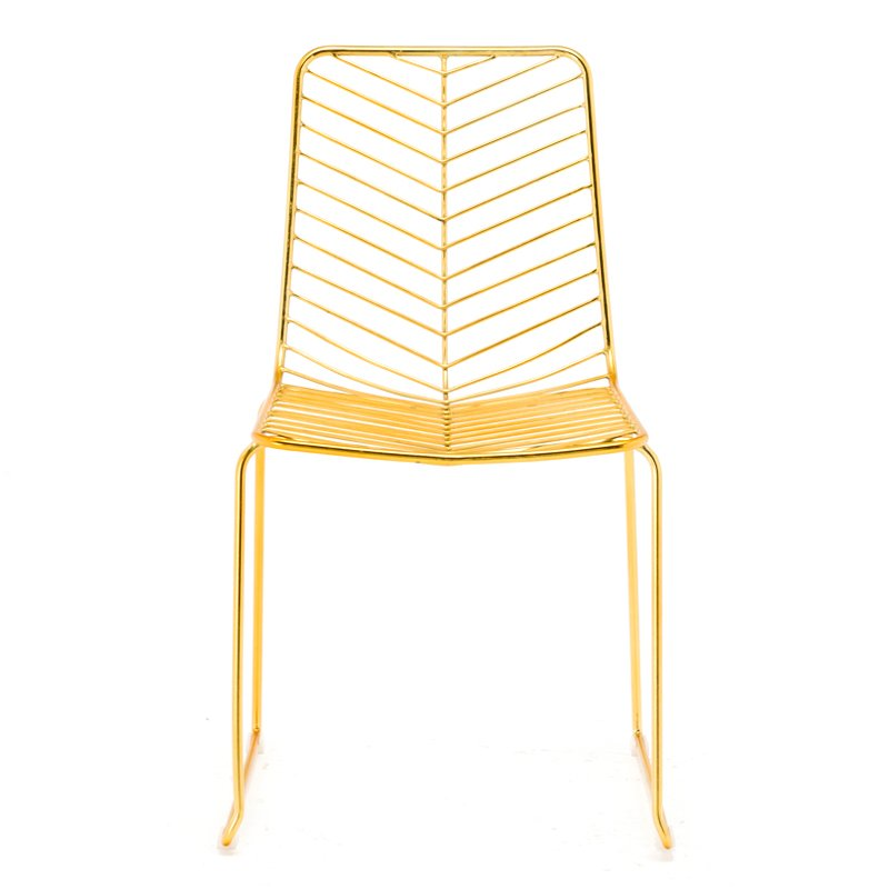 Metal Wire Event Dining Chair GA2204C-45ST
