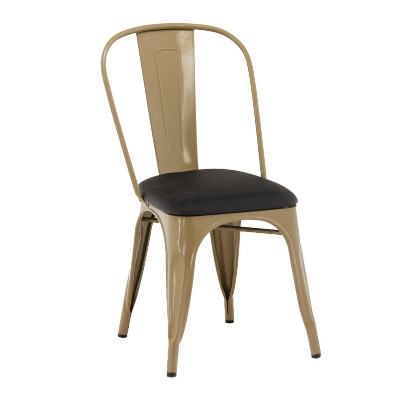 Wholesale Powder Coating Chinese Upholstered Chair GA101C-45STP