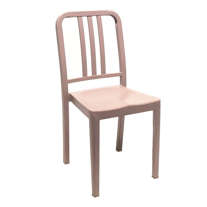 Simple metal chair restaurant used styling dining navy chair GA1002C-45ST