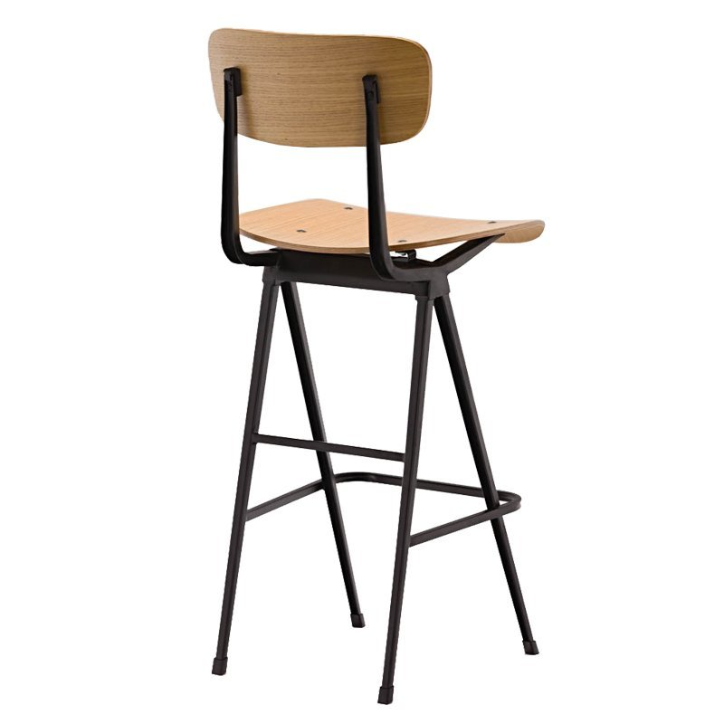 Factory Price Antique Kitchen Bar Chair Plywood Bar Stool GA2901C-75STW