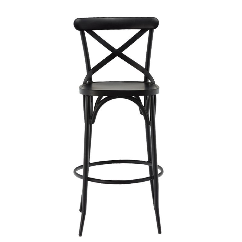 Replica Metal Bentwood Chair restaurant dining chair/French Cross Back Stool GA1101C-75ST