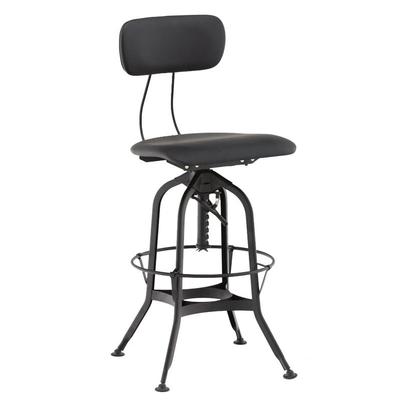 Vintage Retro Toledo Bar Chair/ Metal Vintage Toledo Stool GA402C-65STP