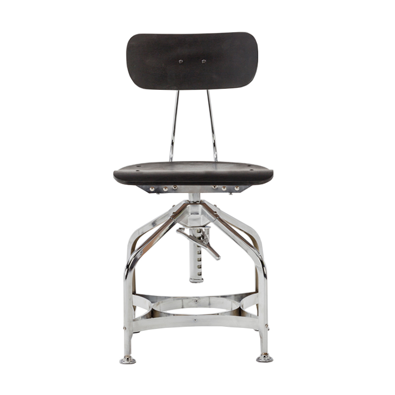 Hot sale short back swivel metal counter dining kitchen bar stool GA402C