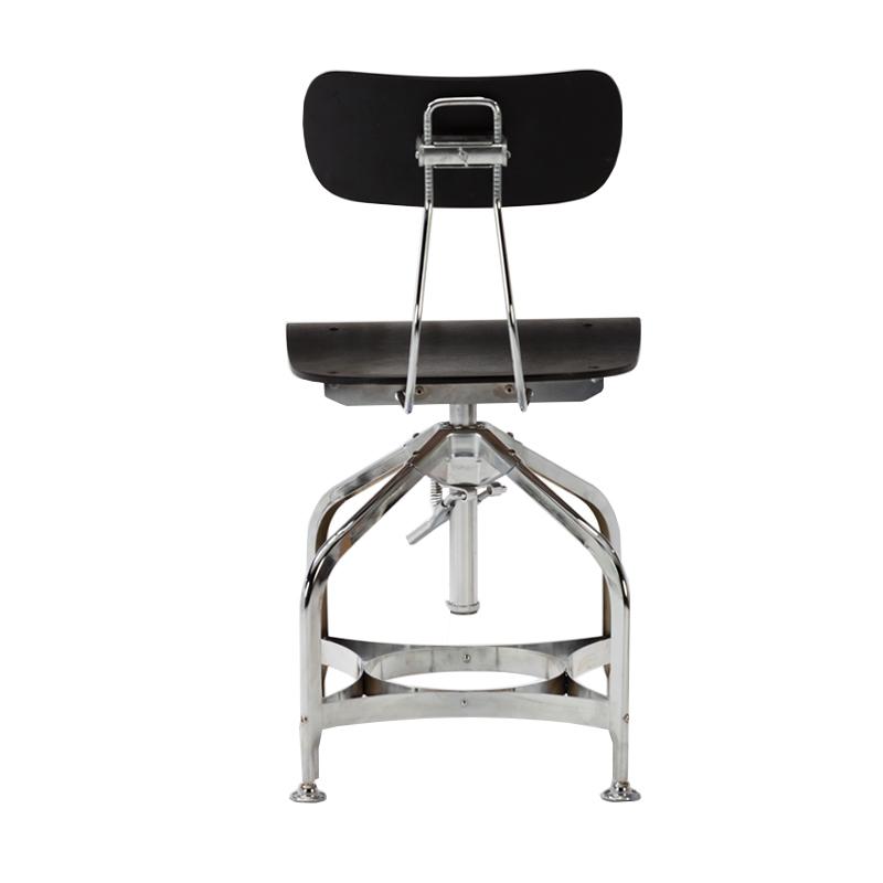 china supplier bar furniture metal frame height adjustable chair swivel industrial chair GA402C