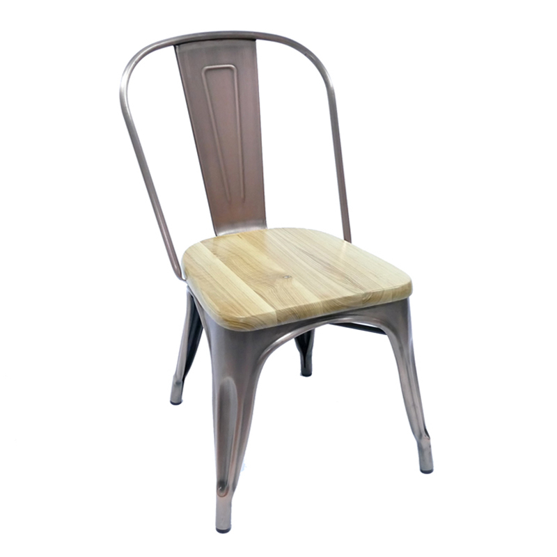 Wood Metal Cafe Chair  Restaurant Chairs for Sale GA101C