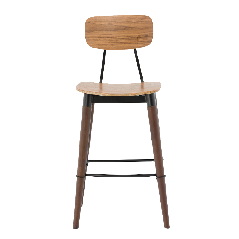 Project Bar Furniture Wooden Bar Stool GA2001C