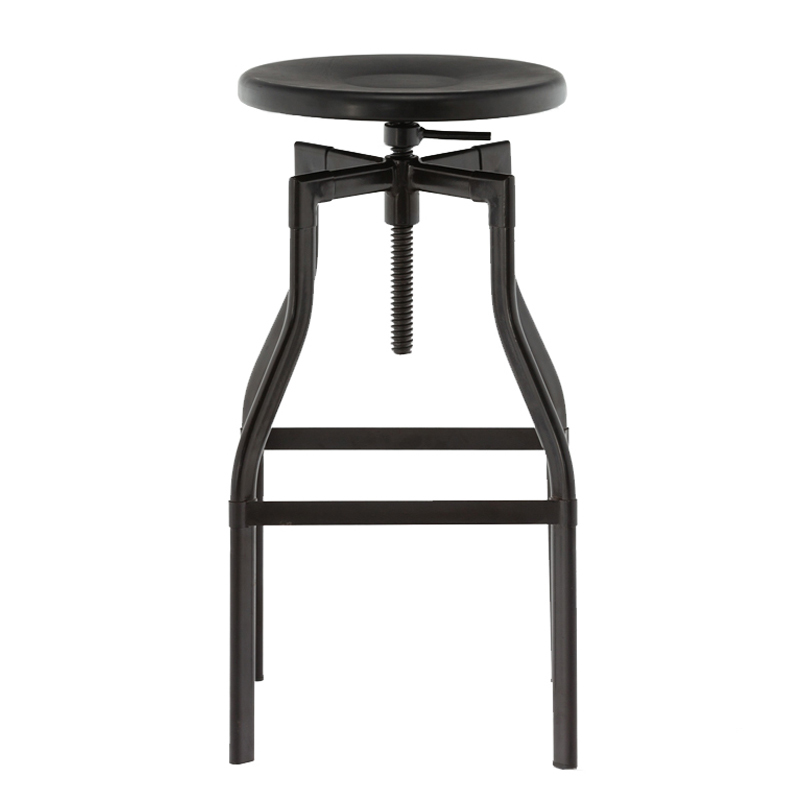 Backless Retro Vintage Swivel Bar Stool GA601C-65ST