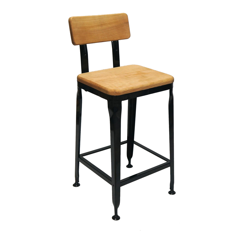 Wood Kitchen Counter Stools GA501C-65STW