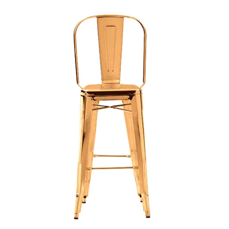 CheapTall wooden amrest bar stool tuffed pub bar chair counter bar stool GA101C