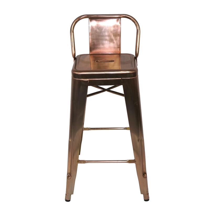 Vintage Industrial Antique Style Barstool Metal Counter Kitchen Bar Stool GA201BC-65ST