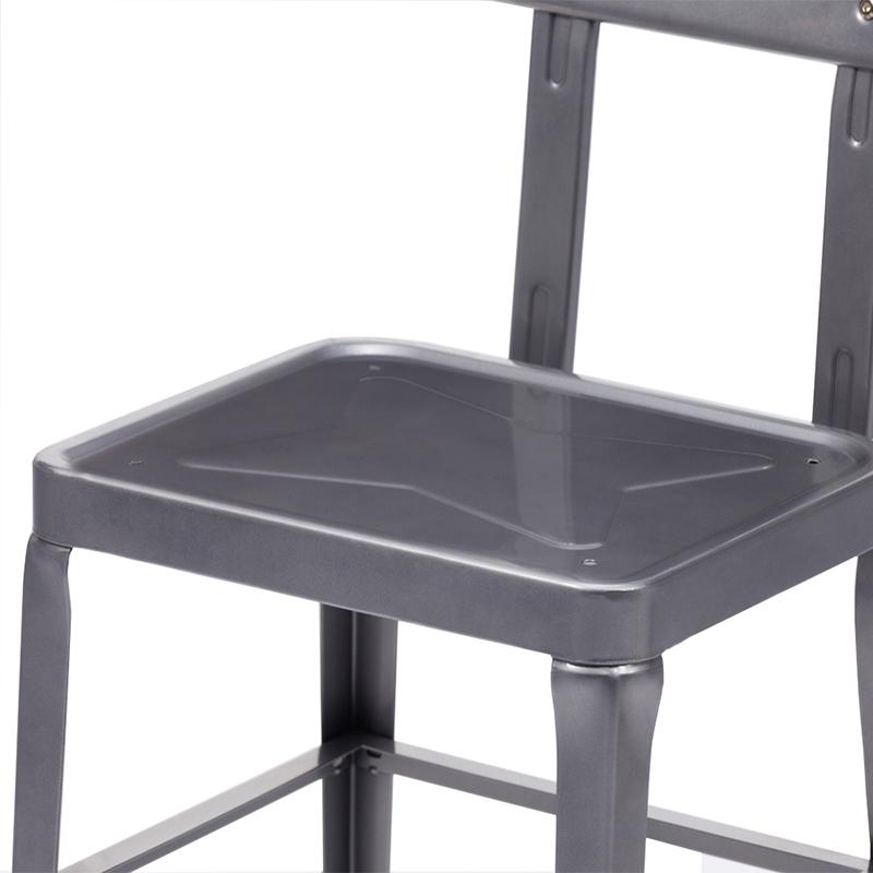 Restaurant Furniture Industrial Metal Restaurant Chair  501C