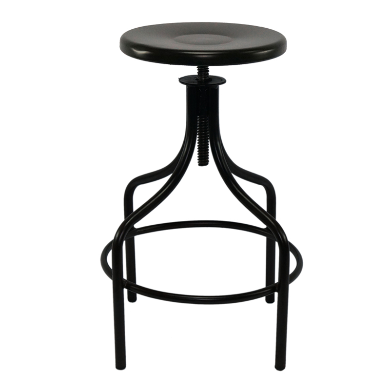 Vintage Industrial High Bar stool  GA603C-65ST