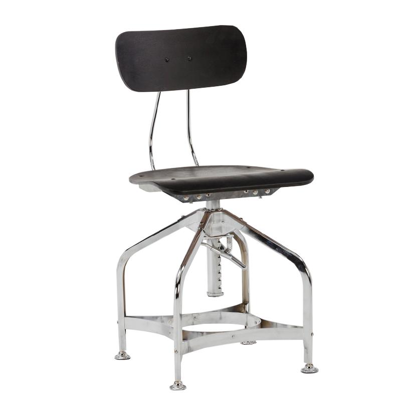 Modern Bistro Powder Coating Metal Stacking bar Stool with Wood Seat And Backrest  GA402C-45STW