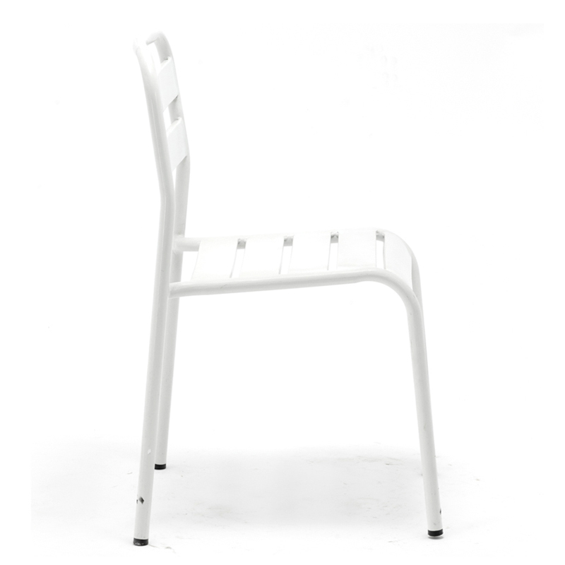 French Style Metal Outdoor Stacking Chair GA802C-45ST