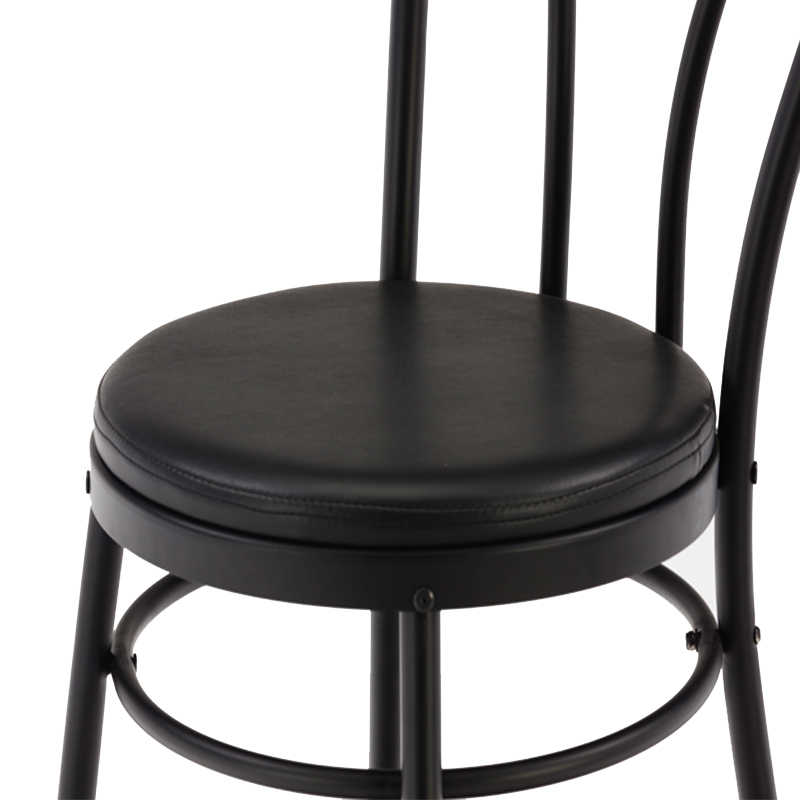 PVC Seat Dining Chair GA901C-45STP