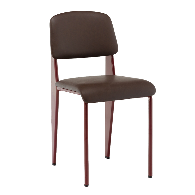 Home Furniture PU leather Dining Chair Stainless steel dining chair GA1701C-45STP