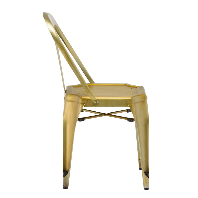 Comfortable Metal Restaurant Chair With Wood Seat GA2101C-45STW