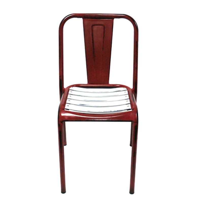 Restaurant Furniture Industrial Metal Restaurant Chair GA2401C