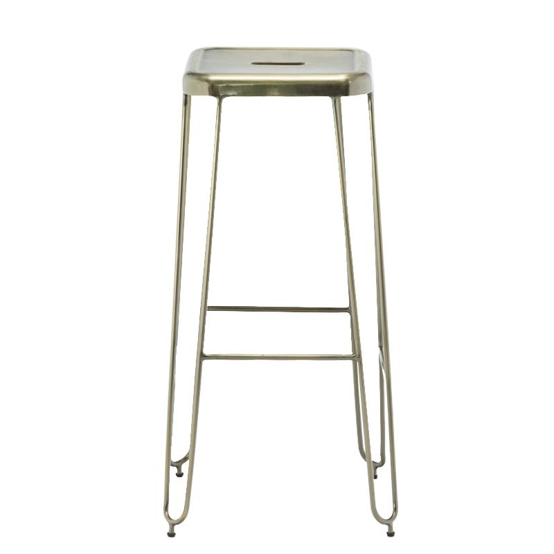 Outdoor High Metal Hairpin Bar stool GA203C-75ST