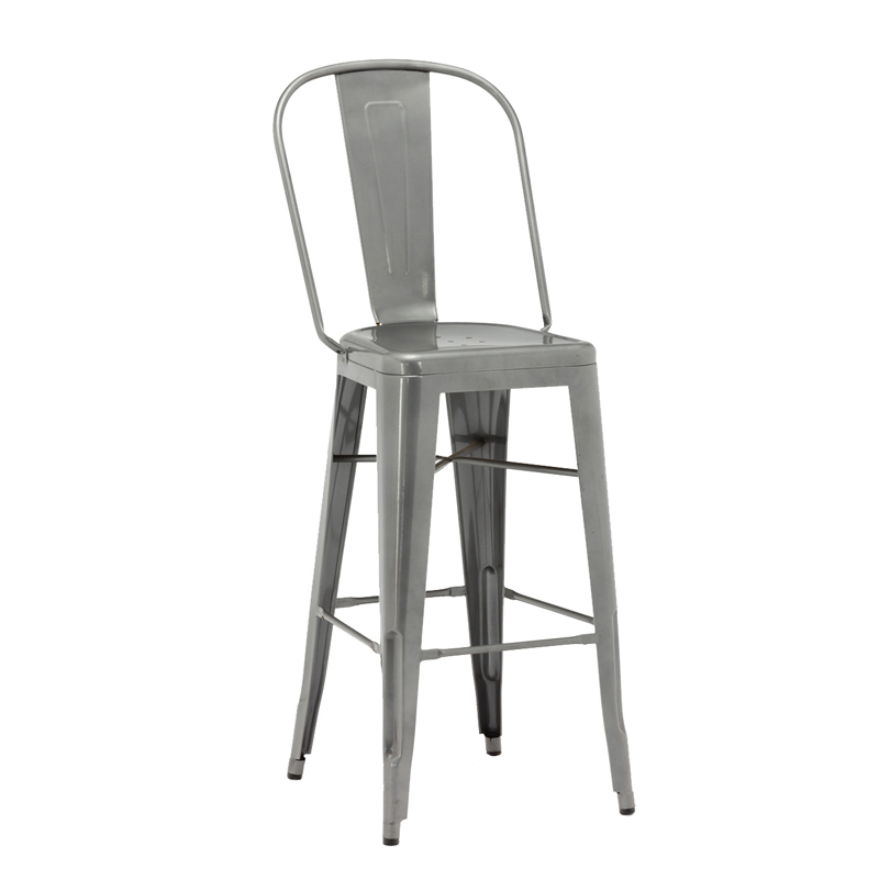 Wholesale High Quality Industrial Vintage Metal Bar Stool GA101C-75ST