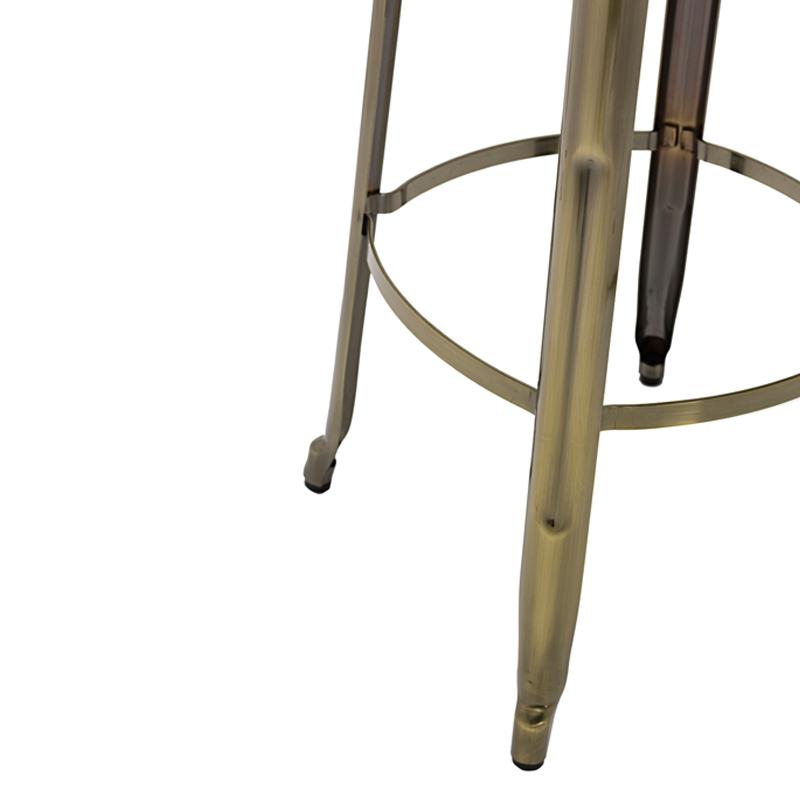 Wood and Metal Bar Stools GA301C-75STW